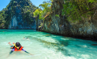 Koh Hong island tour by speedboat
