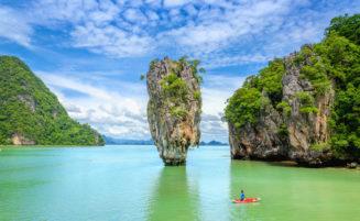 James Bond island tour by speedboat from Krabi